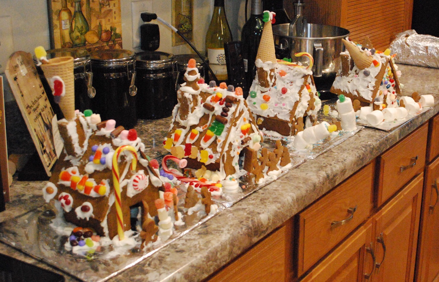 Gingerbread houses 2015
